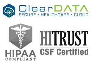 ClearData, HIPAA, HITRUST